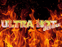 Автомат Ultra Hot Deluxe на зеркале Вулкан Платинум