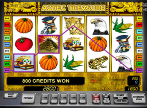 играть в зеркало казино Aztec Treasures