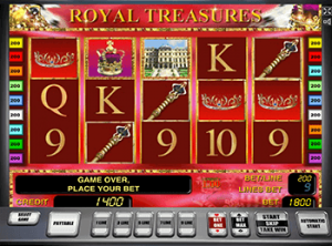 Играть в автомат Royal Treasures в онлайн казино