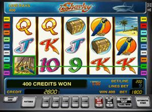 Sharky игровые автоматы он лайн енвд торговля через игровые автоматы